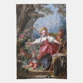 Ciego-Sirve pen¢asco de Jean-Honore Fragonard Toallas