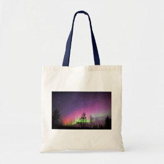 Cielo Alaska de la aurora boreal del arte de la Bolsas De Mano