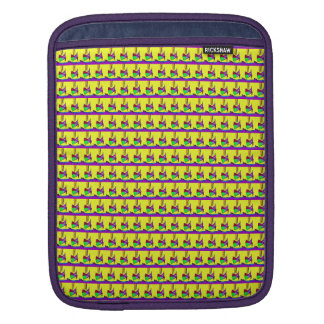 Cielo amarillo fundas para iPads