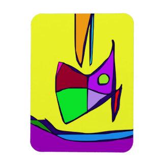 Cielo amarillo imanes flexibles