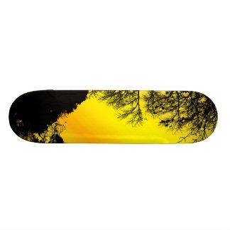 Cielo amarillo patin personalizado