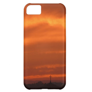 Cielo anaranjado sobre Venecia (Venezia), Italia Funda Para iPhone 5C