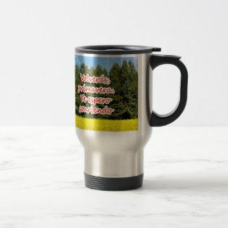 Cielo árboles y flores 18.02.01 coffee mug
