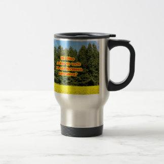Cielo árboles y flores 18.02.03 coffee mug