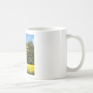 Cielo árboles y flores 18.02.05 coffee mugs