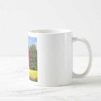 Cielo árboles y flores 18.02.06 coffee mug