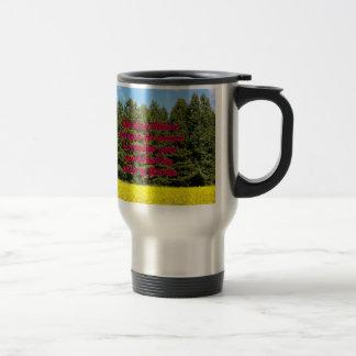 Cielo árboles y flores 18.02.06 mug