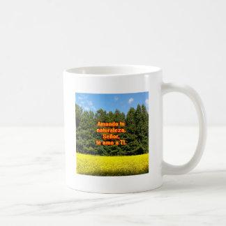 Cielo árboles y flores 18.02.08 coffee mug