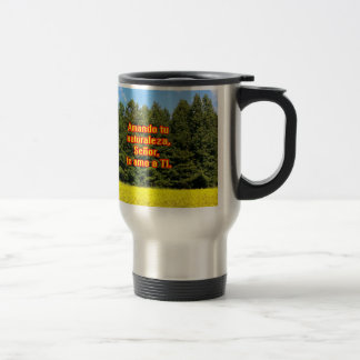 Cielo árboles y flores 18.02.08 coffee mugs