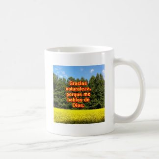 Cielo árboles y flores 18.02.09 mug