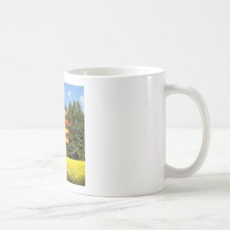 Cielo árboles y flores 18.02.09 coffee mug