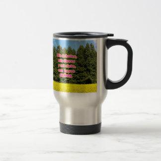 Cielo árboles y flores 18.02.10 mug
