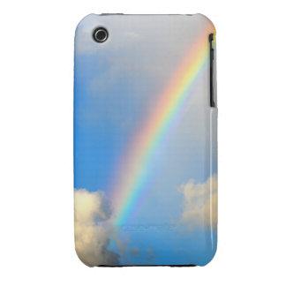 Cielo, arco iris y caja de la casamata de las funda para iPhone 3