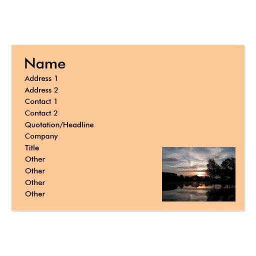 Cielo asombroso, nombre, dirección 1, dirección 2, tarjetas de visita