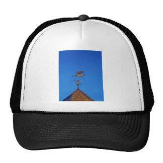 Cielo azul brillante de la paleta de tiempo del gorras