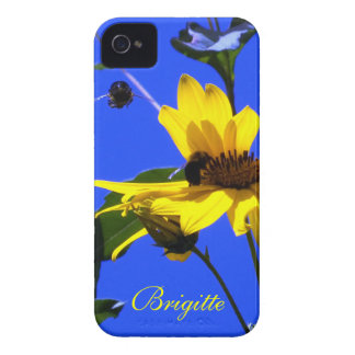 Cielo azul caso del iPhone 4 de las abejas de los iPhone 4 Case-Mate Cobertura