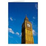 Cielo azul de Big Ben Felicitaciones