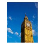 Cielo azul de Big Ben Postales