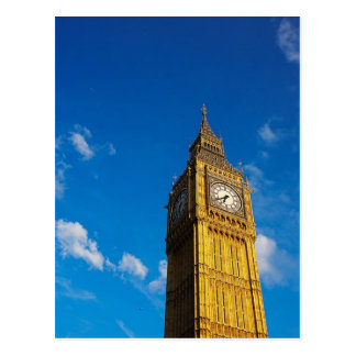 Cielo azul de Big Ben Tarjetas Postales