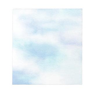 Cielo azul de la aguamarina suave blocs