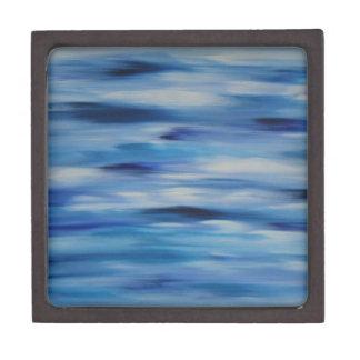 Cielo azul de la colección de las pinturas de caja de recuerdo de calidad