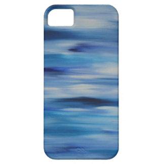 Cielo azul de la colección de las pinturas de iPhone 5 carcasa
