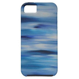 Cielo azul de la colección de las pinturas de iPhone 5 funda