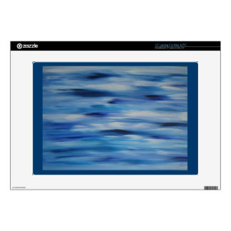 Cielo azul de la colección de las pinturas de portátil 38,1cm skin