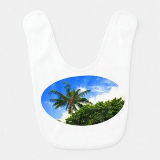 cielo azul de la Florida de las uvas del mar de la Baberos De Bebé
