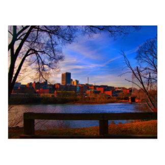 cielo azul de Lynchburg va Postal