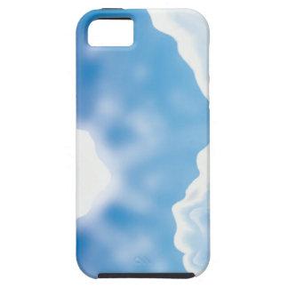Cielo azul funda para iPhone 5 tough