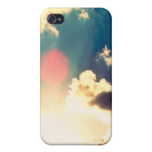 Cielo azul iPhone 4/4S fundas