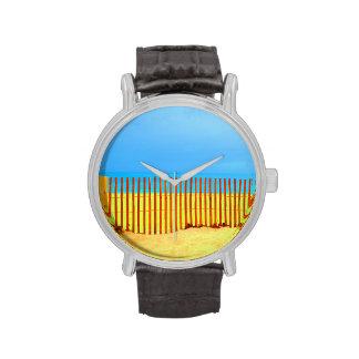 cielo azul la Florida de la cerca de la playa anar Relojes De Mano