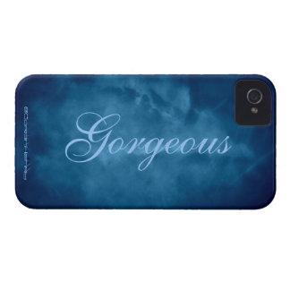 Cielo azul magnífico iPhone 4 Case-Mate protector