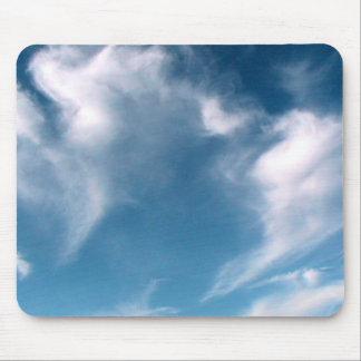 Cielo azul mouse pad
