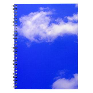 Cielo azul note book