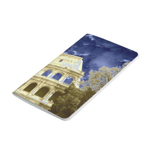 Cielo azul nublado 1 de Roma Colosseum Cuaderno