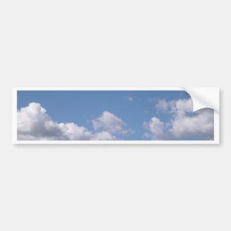 cielo azul pegatina para auto