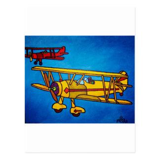 Cielo azul por Piliero Postal