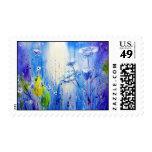 Cielo azul sellos