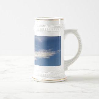 cielo azul taza