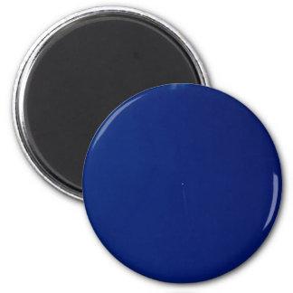 Cielo azul temático, brillante azul Ima capturado Imán Redondo 5 Cm