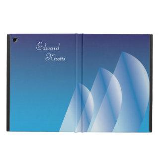 Cielo azul translúcido de la Tri Vela personalizad