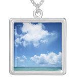 Cielo azul y el mar grimpolas personalizadas
