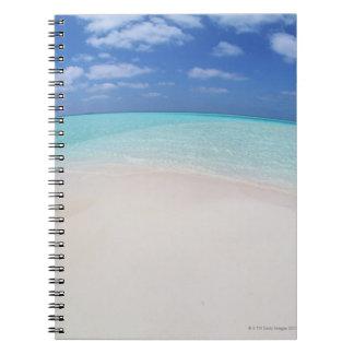 Cielo azul y mar 10 cuaderno