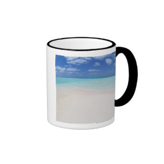 Cielo azul y mar 10 taza a dos colores