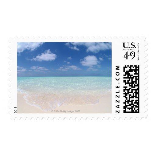Cielo azul y mar 11 timbres postales