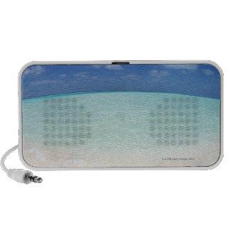 Cielo azul y mar 12 iPod altavoces