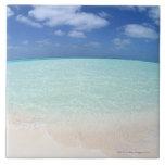 Cielo azul y mar 12 azulejos ceramicos