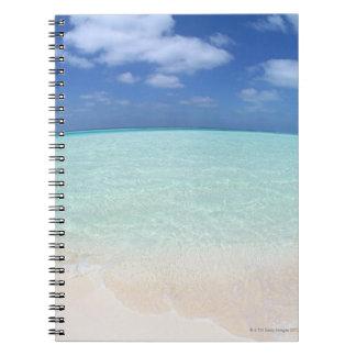 Cielo azul y mar 12 libros de apuntes con espiral